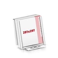 Notizblöcke drucken Flachverpackung Notizblöcke  297x297mm