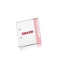 Notizblöcke drucken 2-fach Bohrung Notizblöcke  210x210mm