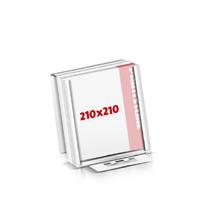 Notizblöcke drucken Flachverpackung Notizblöcke  210x210mm
