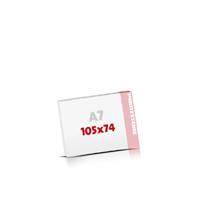 Notizblöcke drucken Notizblöcke  A7  quer (105x74mm)