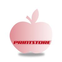Gestanzte Flugblätter drucken Stanzwerkzeug Apfel Beidseitiger Online-Druck