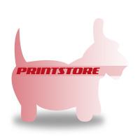Gestanzte Flugblätter drucken Stanzwerkzeug Hund Beidseitiger Online-Druck