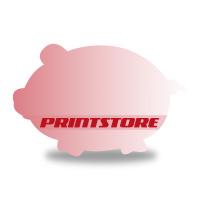 Gestanzte Flugblätter drucken Stanzwerkzeug Schwein Beidseitiger Online-Druck