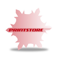 Gestanzte Flugblätter drucken Stanzwerkzeug Schneeflocke Einseitiger Online-Druck