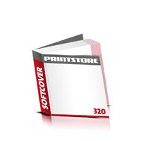 Taschenbuch-Romane drucken Druck mit schwarzer Druckfarbe  64 Seiten bis  320 Seiten Softcover mit Fadenbindung flexibler, weicher Überzug