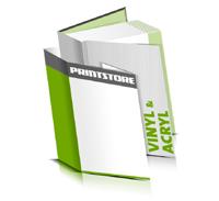 Hardcover Bücher bedrucken Acryl Buchüberzug Vinyl Buchüberzug bedruckter Vorsatz & Nachsatz gerader Buchrücken Fadenheftung Buchdruck im Hochformat