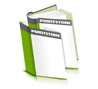 Hardcover Bücher bedrucken Schutzumschlag Papier Buchüberzug bedruckter Vorsatz & Nachsatz runder Buchrücken Fadenheftung Buchdruck im Hochformat