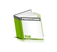 Hardcover Bücher bedrucken Papier Buchüberzug gerader Buchrücken PUR-Klebebindung Buchdruck im Quadratformat