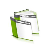 Hardcover Bücher bedrucken Schutzumschlag Papier Buchüberzug bedruckter Vorsatz & Nachsatz runder Buchrücken Fadenheftung Buchdruck im Quadratformat