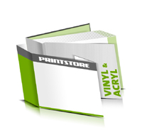 Hardcover Bücher bedrucken Acryl Buchüberzug Vinyl Buchüberzug bedruckter Vorsatz & Nachsatz gerader Buchrücken Fadenheftung Buchdruck im Querformat
