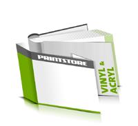 Hardcover Bücher bedrucken Acryl Buchüberzug Vinyl Buchüberzug runder Buchrücken Fadenheftung Buchdruck im Querformat