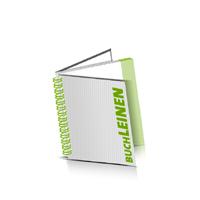 Hardcover Broschüren bedrucken Leinen Buchüberzug Wire-O Bindung Quadratformat