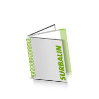 Hardcover Broschüren bedrucken Surbalin Buchüberzug Wire-O Bindung Quadratformat