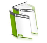 Hardcover Bücher bedrucken Schutzumschlag Papier Buchüberzug gerader Buchrücken PUR-Klebebindung Buchdruck im Hochformat