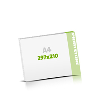 Seminarblöcke bedrucken Seminarblöcke  A4  quer (297x210mm)