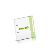 Seminarblöcke bedrucken 2-fach Bohrung Seminarblöcke  210x210mm