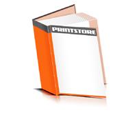 Hardcover Bücher drucken Papier Deckeleinband bedruckter Vorsatz & Nachsatz gerader Buchrücken Fadenheftung Buchdruck im Hochformat