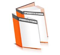 Hardcover Bücher drucken Schutzumschlag Papier Deckeleinband bedruckter Vorsatz & Nachsatz gerader Buchrücken Fadenheftung Buchdruck im Hochformat