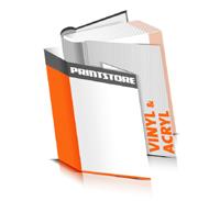 Hardcover Bücher drucken Acryl Deckeleinband Vinyl Deckeleinband runder Buchrücken Fadenheftung Buchdruck im Hochformat