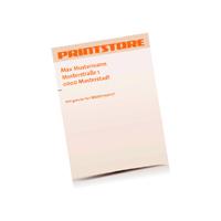 Briefpapiere drucken Einseitige Briefpapiere Einseitige Personalisierung CMYK