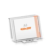 Schreibunterlagen drucken Versandverpackung Schreibunterlagen  A3  quer (420x297mm)