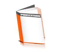 Softcover Bücher drucken  4 Seiten Umschlag Fadenbindung Hochformat