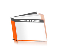 Softcover Bücher drucken  4 Seiten Umschlag Fadenbindung Querformat