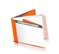 Softcover Bücher drucken  8 Seiten Umschlag Fadenbindung Querformat