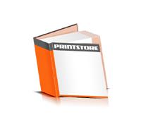 Hardcover Bücher drucken Papier Deckeleinband bedruckter Vorsatz & Nachsatz gerader Buchrücken Fadenheftung Buchdruck im Quadratformat