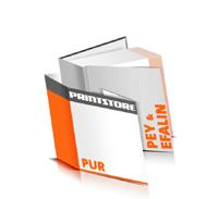 Hardcover Bücher drucken Efalin Deckeleinband Pey Deckeleinband gerader Buchrücken PUR-Klebebindung Buchdruck im Quadratformat