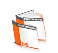 Hardcover Bücher drucken Schutzumschlag Papier Deckeleinband gerader Buchrücken PUR-Klebebindung Buchdruck im Quadratformat
