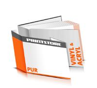 Hardcover Bücher drucken Acryl Deckeleinband Vinyl Deckeleinband gerader Buchrücken PUR-Klebebindung Buchdruck im Querformat