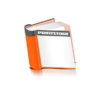 Hardcover Bücher drucken Papier Deckeleinband bedruckter Vorsatz & Nachsatz runder Buchrücken Fadenheftung Buchdruck im Quadratformat