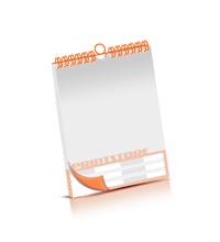 Bild-Kalender drucken OHNE Kalenderdeckblatt Kalenderblätter beidseitiger Druck Wire-O Bindungen Kalenderdruck im Hochformat