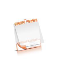 Bild-Kalender drucken PVC-Titel-Blatt OHNE Kalenderdeckblatt Kalenderblätter beidseitiger Druck Wire-O Bindungen Kalenderdruck im Quadratformat