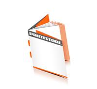 Broschüren drucken  8 Seiten Umschlag Rückendrahtheftung  2 Heftklammern Quadratformat