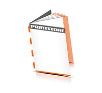 Broschüren drucken  4 Seiten Umschlag Rückendrahtheftung  4 Heftklammern
