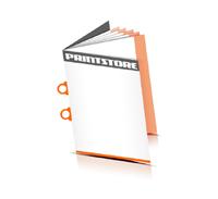Preislisten drucken  4 Seiten Umschlag Ringösenheftung  2 Ringösen Hochformat