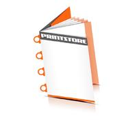 Preislisten drucken  6 Seiten Umschlag Ringösenheftung  4 Ringösen
