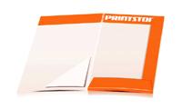 Angebotsmappen drucken stanzen & falten Dreiecks-Taschen Beidseitige Angebotsmappen geschlossen A4 Überformat