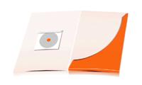 Flügelmappen drucken stanzen, kleben & falten CD-ROM Papier-Taschen Einseitige Flügelmappen geschlossen A4 Überformat