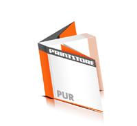 Softcover Magazine drucken  8 Seiten Umschlag PUR-Klebebindung Quadratformat