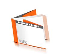 Softcover Magazine drucken  8 Seiten Umschlag PUR-Klebebindung Querformat