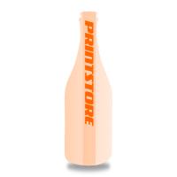 Gestanzte Flyer drucken Stanzform Flasche Beidseitiger Flyerdruck