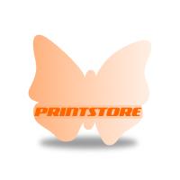 Gestanzte Flyer drucken Stanzform Schmetterling Einseitiger Flyerdruck