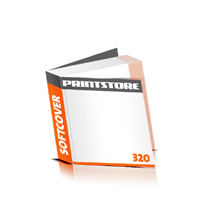 Taschenbücher drucken Druck mit schwarzer Druckfarbe  64 Seiten bis  320 Seiten Softcover mit Fadenbindung flexibler, weicher Buchdeckeleinband