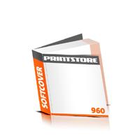 Taschenbücher drucken Druck mit schwarzer Druckfarbe  644 Seiten bis  960 Seiten Softcover mit Heißleim-Klebebindung flexibler, weicher Buchdeckeleinband