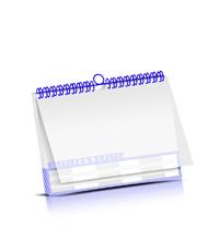Wandkalender herstellen PVC-Titelblatt OHNE Kalenderdeckblatt Kalenderblätter einseitiger Druck Wire-O-Bindungen Kalenderdruck im Querformat