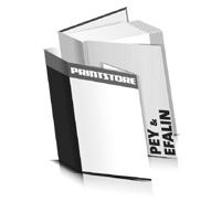 Bücher drucken Efalin Buchüberzug Pey Buchüberzug gerader Buchrücken Fadenheftung Buchdruck im Hochformat