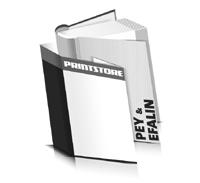 Bücher drucken Efalin Buchüberzug Pey Buchüberzug runder Buchrücken Fadenheftung Buchdruck im Hochformat